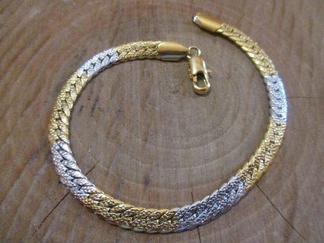 Arany-ezüst színű karkötő