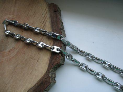 Acél barakka nyaklánc extra hosszúsággal