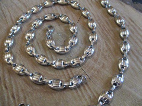 Barakka szett nemesacélból ezüst színben