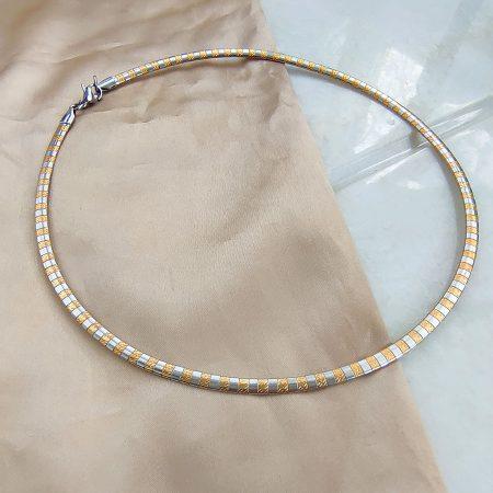 Női nemesacél nyakláncok többféle színben