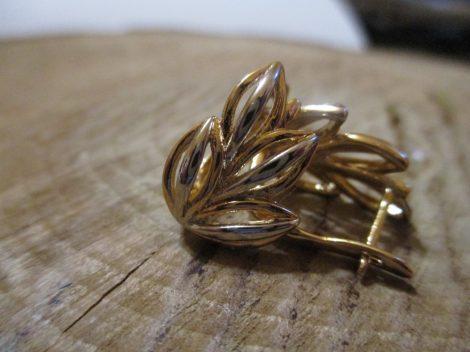 Arany-ezüst színű fülbevaló